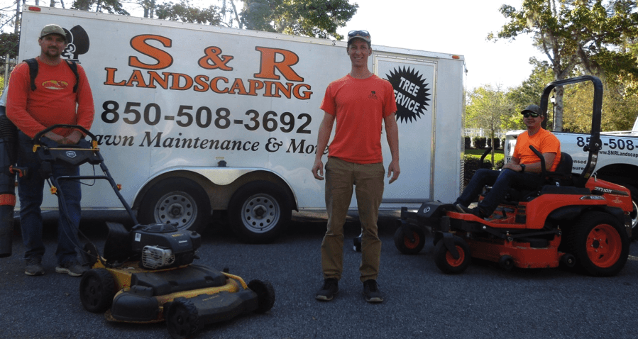 S & R Landscaping Crew